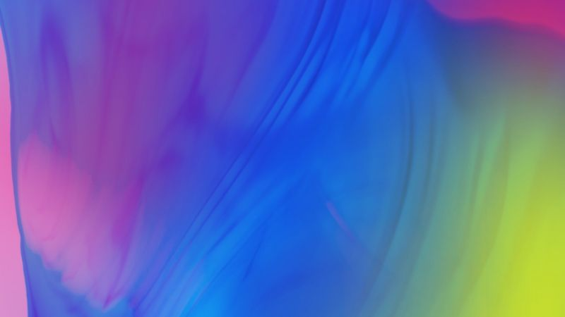 Samsung Galaxy M10, abstract, colorful, HD (horizontal)