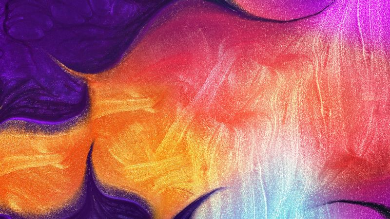 Wallpaper Samsung Galaxy A50 Abstract Colorful Hd Os 21450