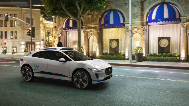 Jaguar I-Pace EV400 Waymo, 2019 Cars, SUV, electric cars, 4K (horizontal)