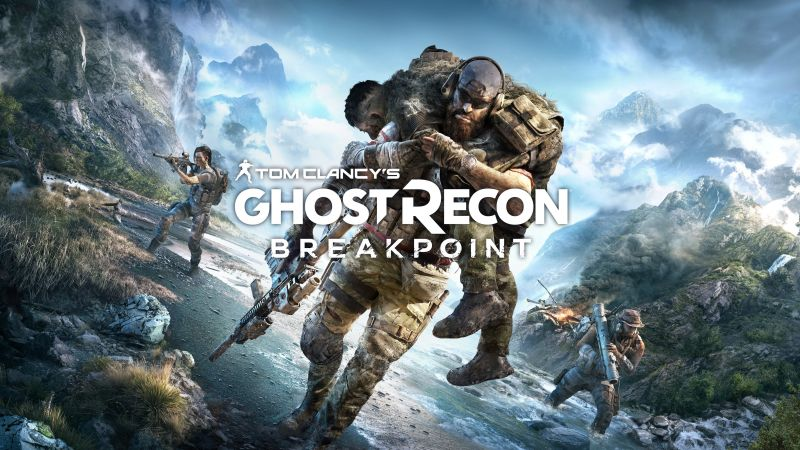 Tom Clancy's Ghost Recon Breakpoint, poster, 4K (horizontal)