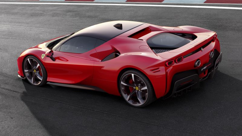 Ferrari SF90 Stradale, 2019 Cars, supercar, 4K (horizontal)