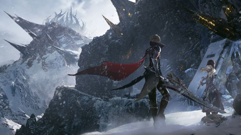 Code Vein, E3 2019, artwork, 4K (horizontal)