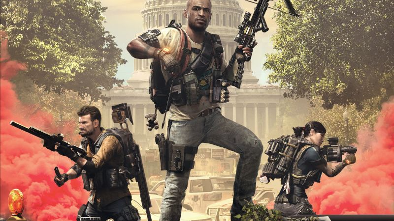 Tom Clancy's The Division 2 Episodes, E3 2019, poster, HD (horizontal)