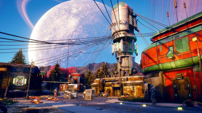 The Outer Worlds, E3 2019, screenshot, 4K (horizontal)