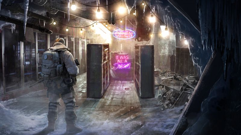 Wasteland 3, E3 2019, artwork, 8K (horizontal)