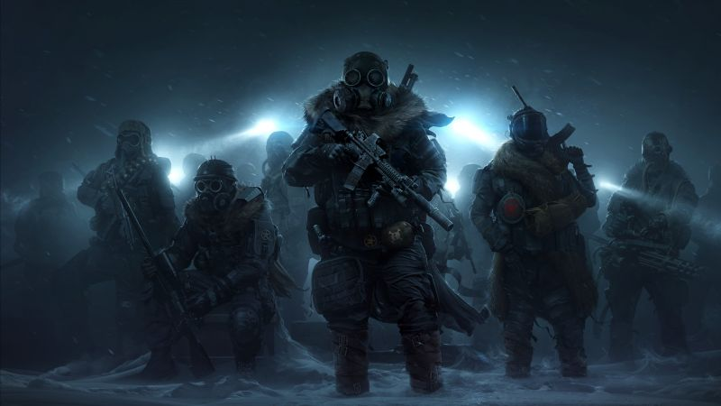 Wasteland 3, E3 2019, artwork, 4K (horizontal)
