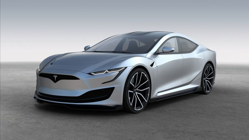 Tesla Model S II, electric cars, 4K (horizontal)