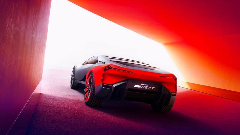 BMW Vision M NEXT, electric cars, 2019 cars, 4K (horizontal)