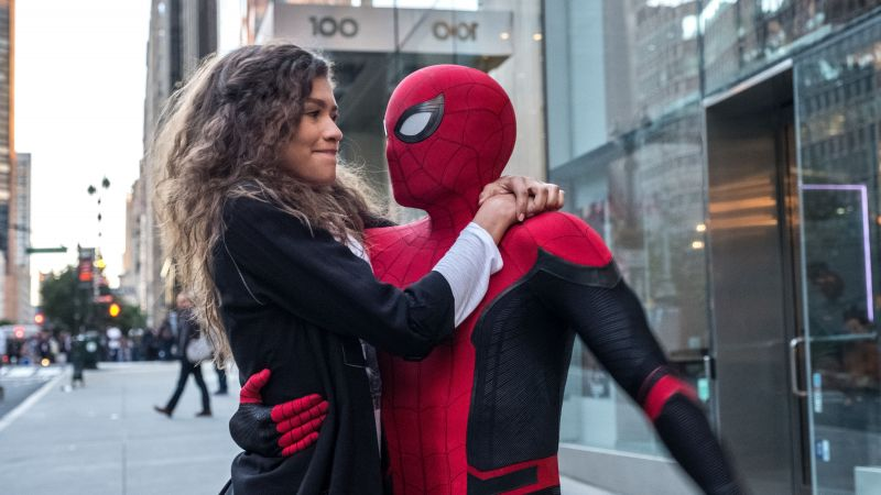Spider-Man: Far From Home, Zendaya, 4K (horizontal)