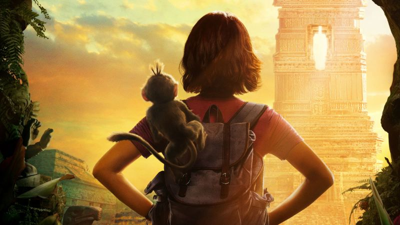 Dora And The Lost City Of Gold, poster, HD (horizontal)