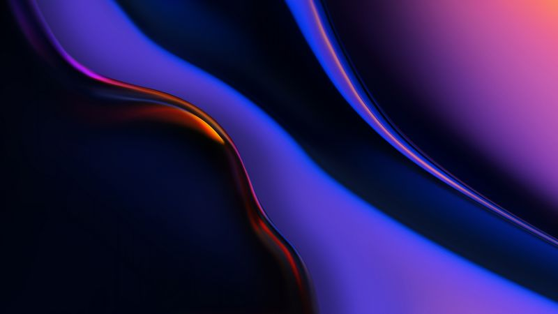 abstract, OnePlus 6T, 4K (horizontal)