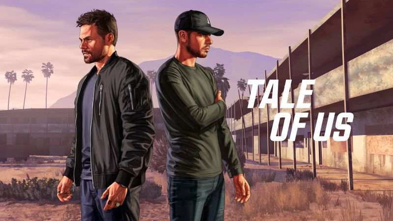 Tale of Us, GTA Online, poster, HD (horizontal)