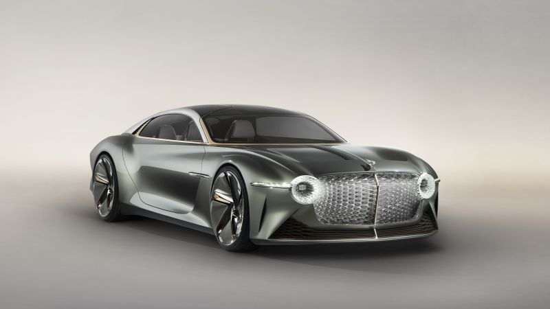 Bentley EXP 100 GT, luxury cars, 5K (horizontal)