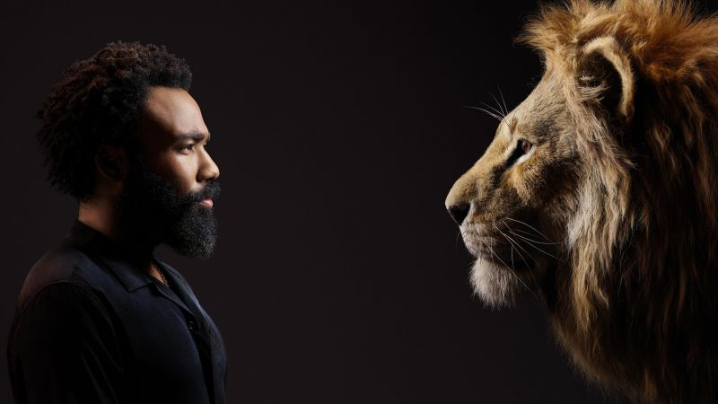 Donald Glover, The Lion King, HD (horizontal)