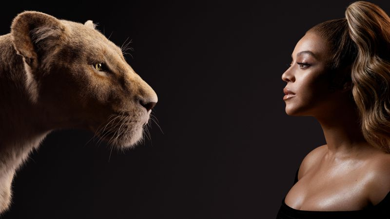 Beyonce, The Lion King, 5K (horizontal)
