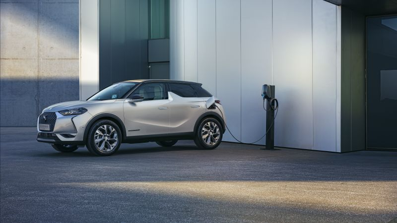DS 3 Crossback E-Tense, 2020 Cars, crossover, 4K (horizontal)