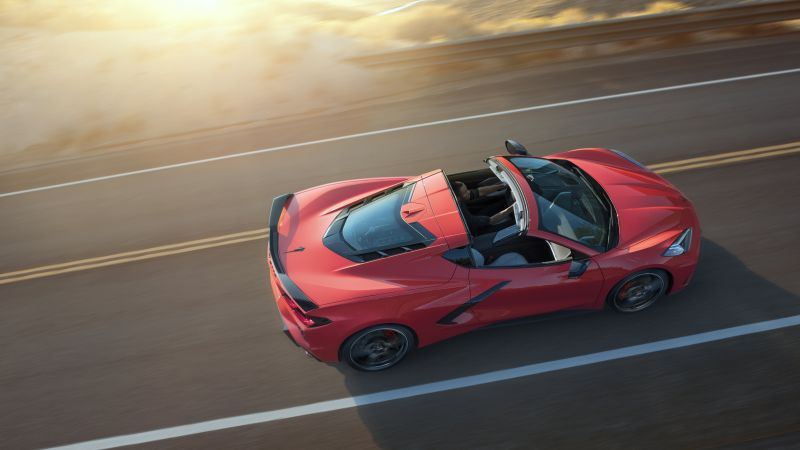 Chevrolet Corvette Stingray Z51, 2020 cars, luxury cars, 5K (horizontal)