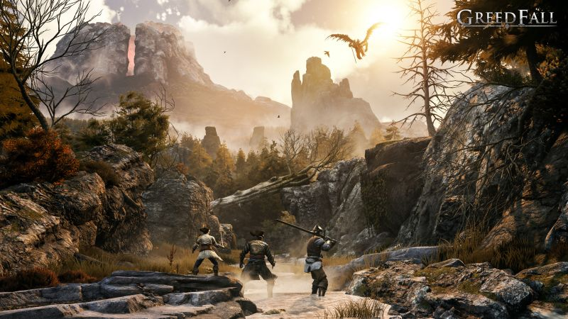 GreedFall, artwork, HD (horizontal)