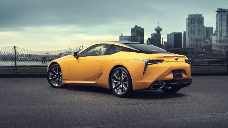 Lexus LC 500 Inspiration Series, 2020 Cars, 8K (horizontal)