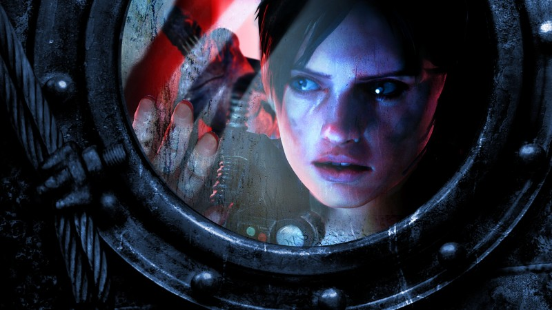 Resident Evil: Revelations 2, survival horror, game, Biohazard Revelations 2, window, blood, ps4, xbox, pc, screenshotProject Siren (horizontal)