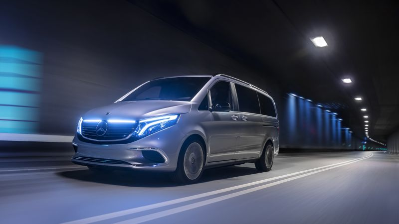 Mercedes-Benz EQV, 2019 cars, electric cars, 5K (horizontal)