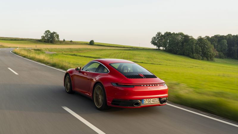 Porsche 911 (922) Carrera Coupe, 2020 cars, 5K (horizontal)