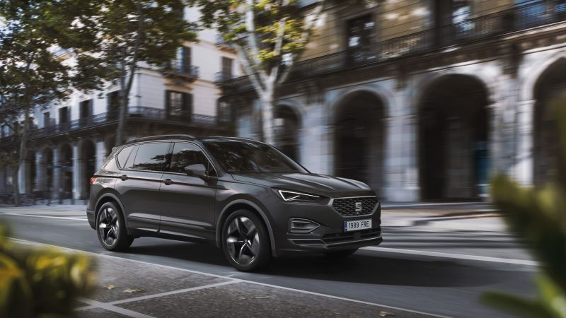 Seat Tarraco FR PHEV, electric cars, SUV, 2020 cars, 8K (horizontal)