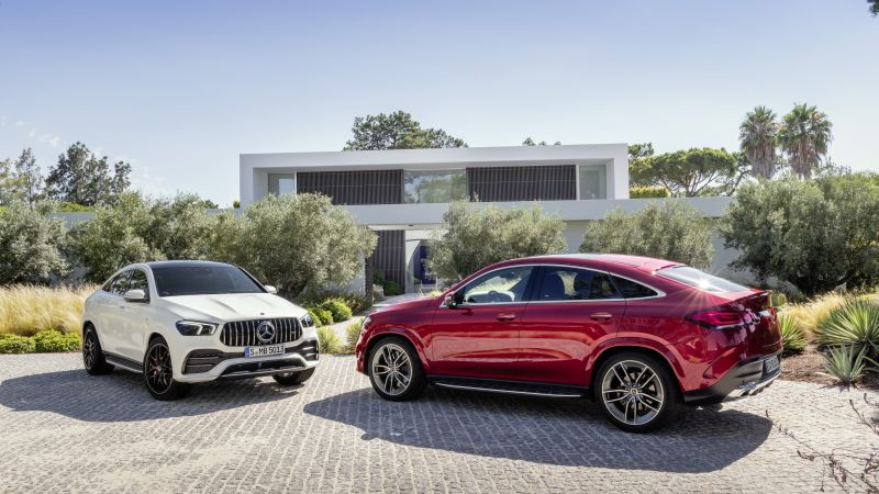 Mercedes-Benz GLE AMG Coupe, 2020 cars, SUV, 8K (horizontal)