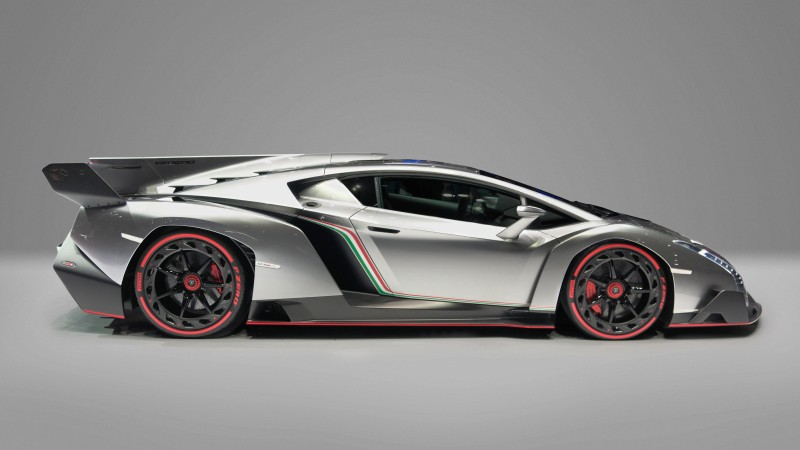 Veneno, 4k, HD wallpaper, Lamborghini, supercar, metallic (horizontal)