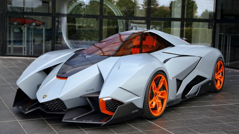 Lamborghini Egoista, supercar, concept, Lamborghini, sports car, speed, hedonism (horizontal)