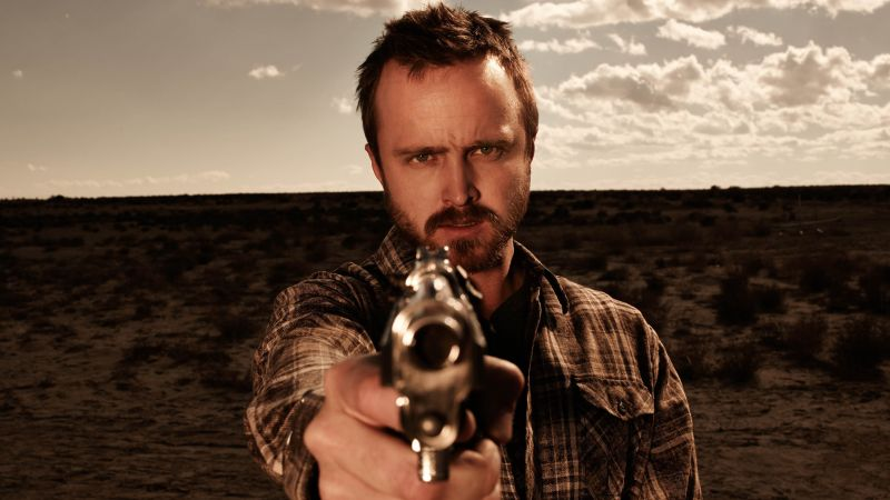 El Camino: Breaking Bad, Aaron Paul, 4K (horizontal)