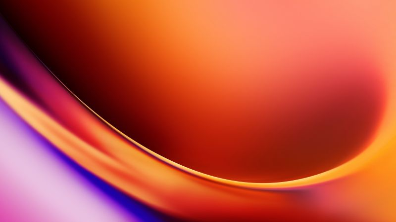OnePlus 7T, abstract, colorful, 4K (horizontal)