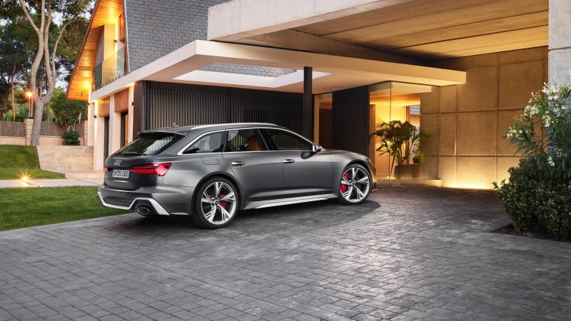Audi RS 6 Avant, 2019 cars, 4K (horizontal)