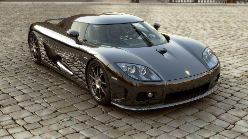 Koenigsegg CCXR, supercar, Koenigsegg, sports car, Bio Sport, ecosafe, dark grey (horizontal)
