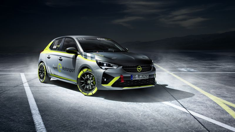 Opel Corsa-e Rally, electric cars, 2019 cars, 5K (horizontal)