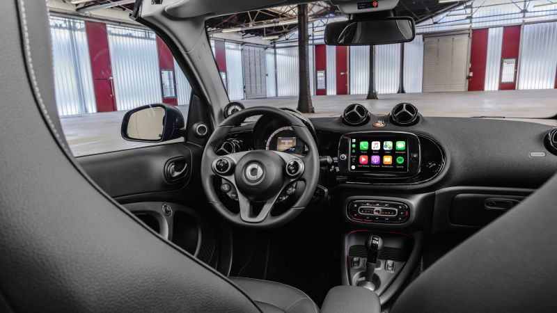 Smart EQ fortwo, interior, 2020 cars, electric cars, 8K (horizontal)