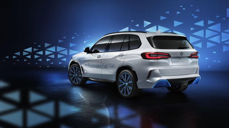 BMW i Hydrogen NEXT, SUV, hydrogen fuel cell, 4K (horizontal)