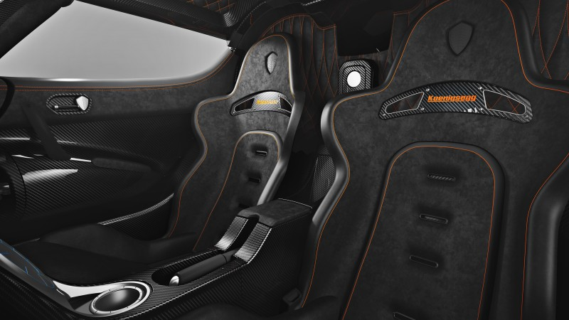 Koenigsegg One, supercar, Koenigsegg, sports car, One:1, limited edition, interior, 2015 Detroit Auto Show. NAIAS (horizontal)