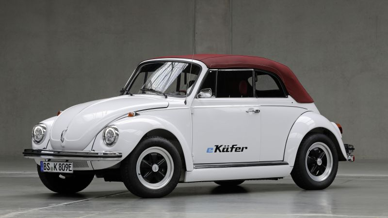 Volkswagen e-Käfer, electric cars, 2019 cars, 5K (horizontal)