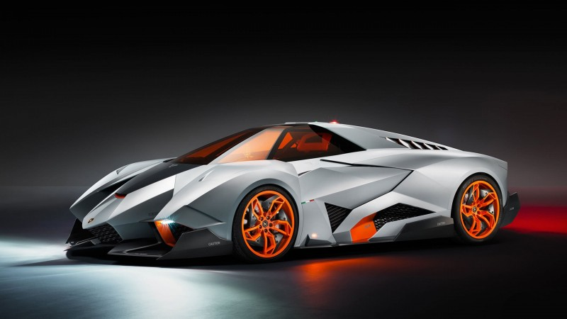 egoista, lamborgini, supercar, gray, matt, orange, concept (horizontal)