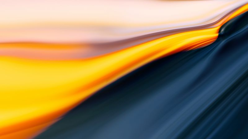 OnePlus 7, abstract, colorful, 4K (horizontal)