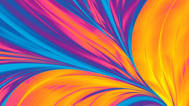 Huawei Matebook Pro 2019, abstract, colorful, 4K (horizontal)