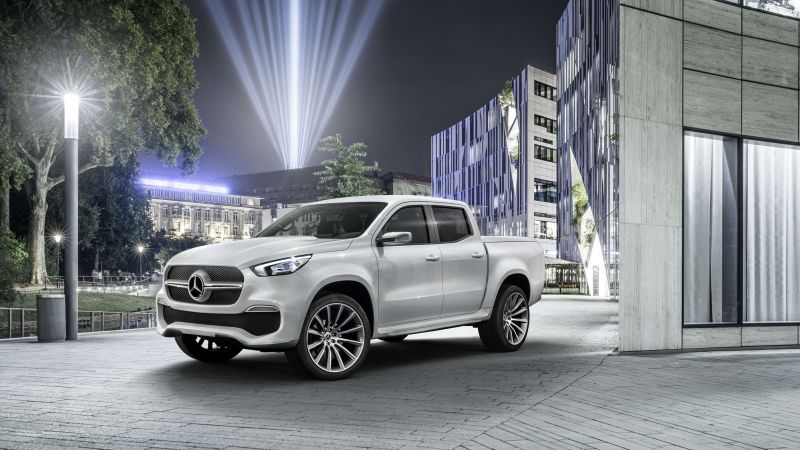 Mercedes-Benz X350, SUV, 2019 cars, 4K (horizontal)