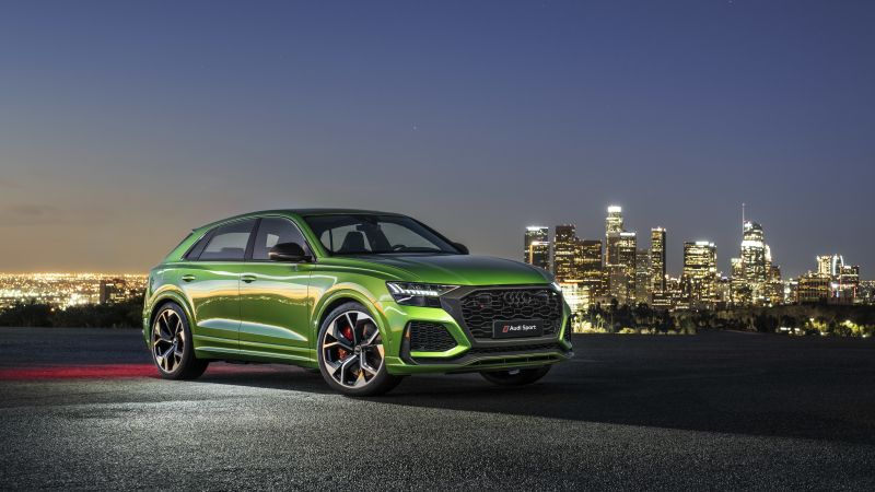 Audi RS Q8, SUV, 2020 cars, 4K (horizontal)