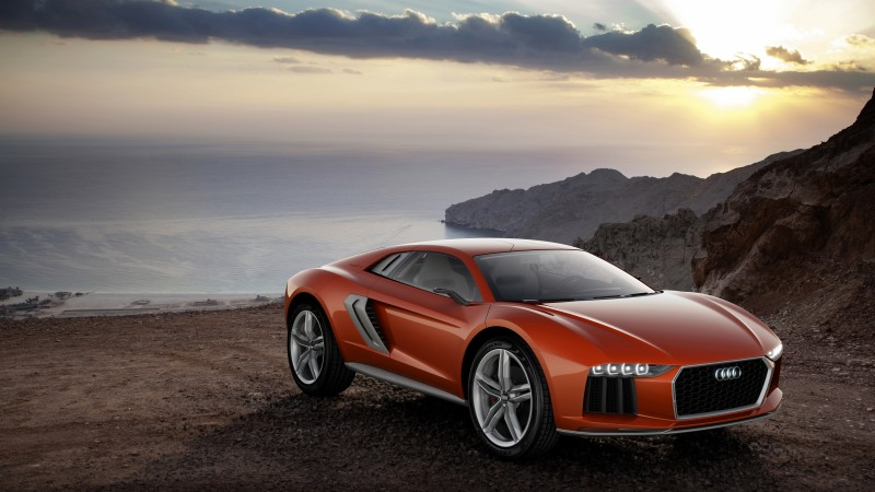 Audi Nanuk Quattro, concept, Audi, supercar, speed, sports car, luxury cars, nature, review (horizontal)