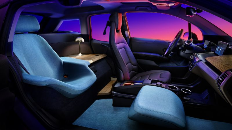 BMW i3 Urban Suite, CES 2020, electric car, 2020 cars, 4K (horizontal)