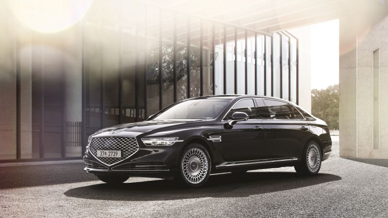 Genesis G90 Limousine, 2020 cars, luxury cars, HD (horizontal)