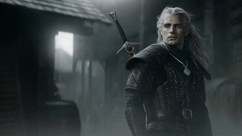 The Witcher, poster, Henry Cavill, 5K (horizontal)