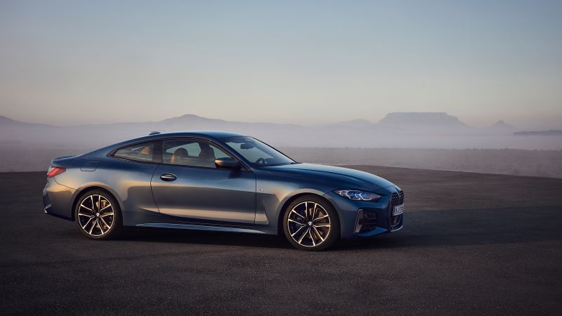 BMW 4 Series Hybrid, 2021 cars, electric cars, 4K (horizontal)