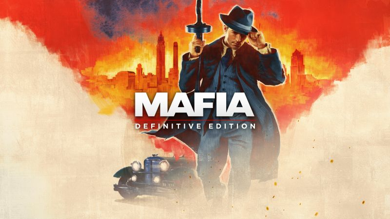 Mafia: Definitive Edition, Mafia: Trilogy, artwork, 5K (horizontal)